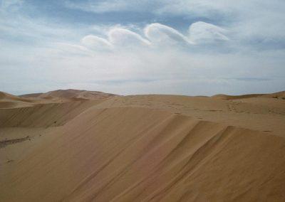 L'erg algérien et son ciel, 1982