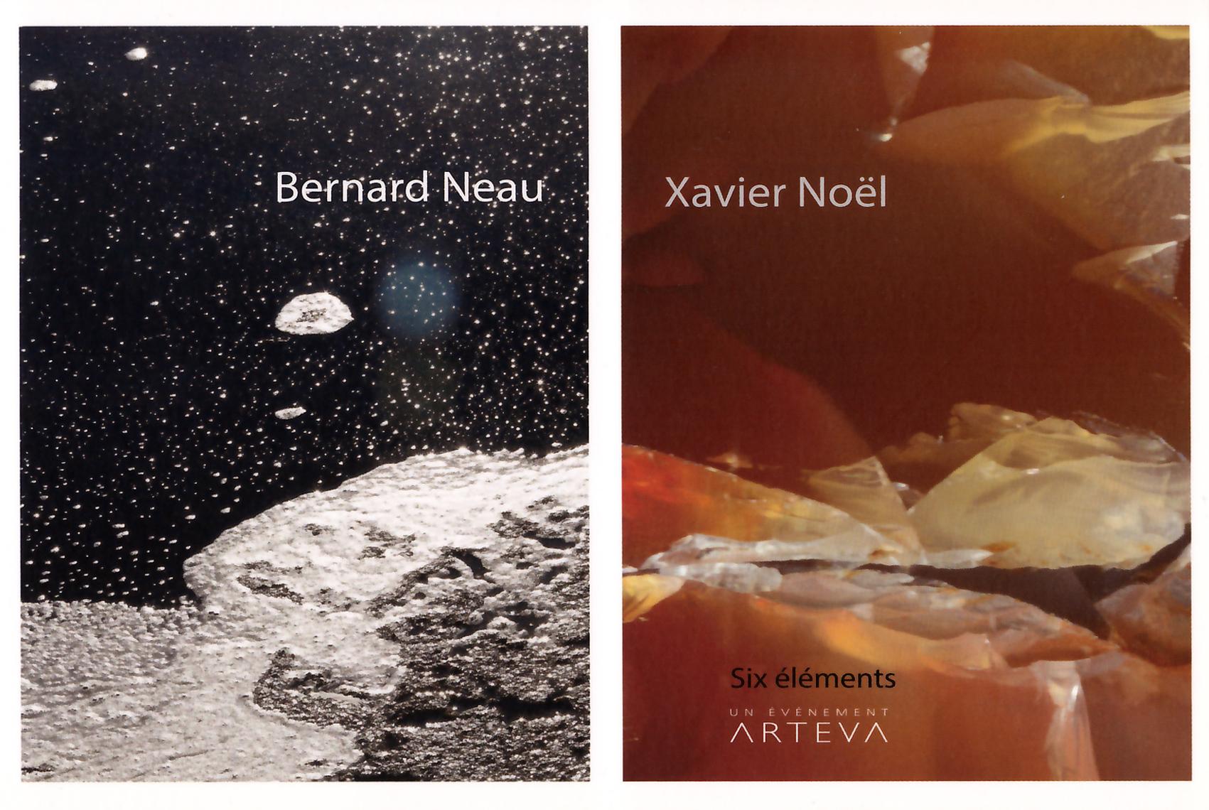 Exposition Les 6 éléments, Arteva, Espace d'art contemporain, Rezé, janvier 2015