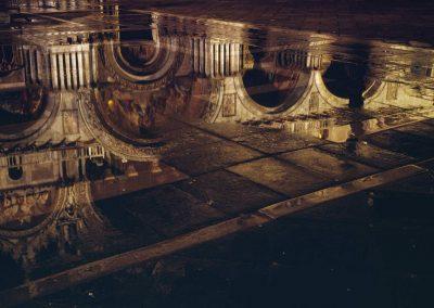 Ville Venise Basilique San Marco (acqua alta), Bernard Neau