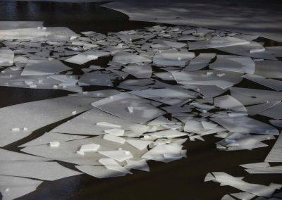 L' Erdre gelée