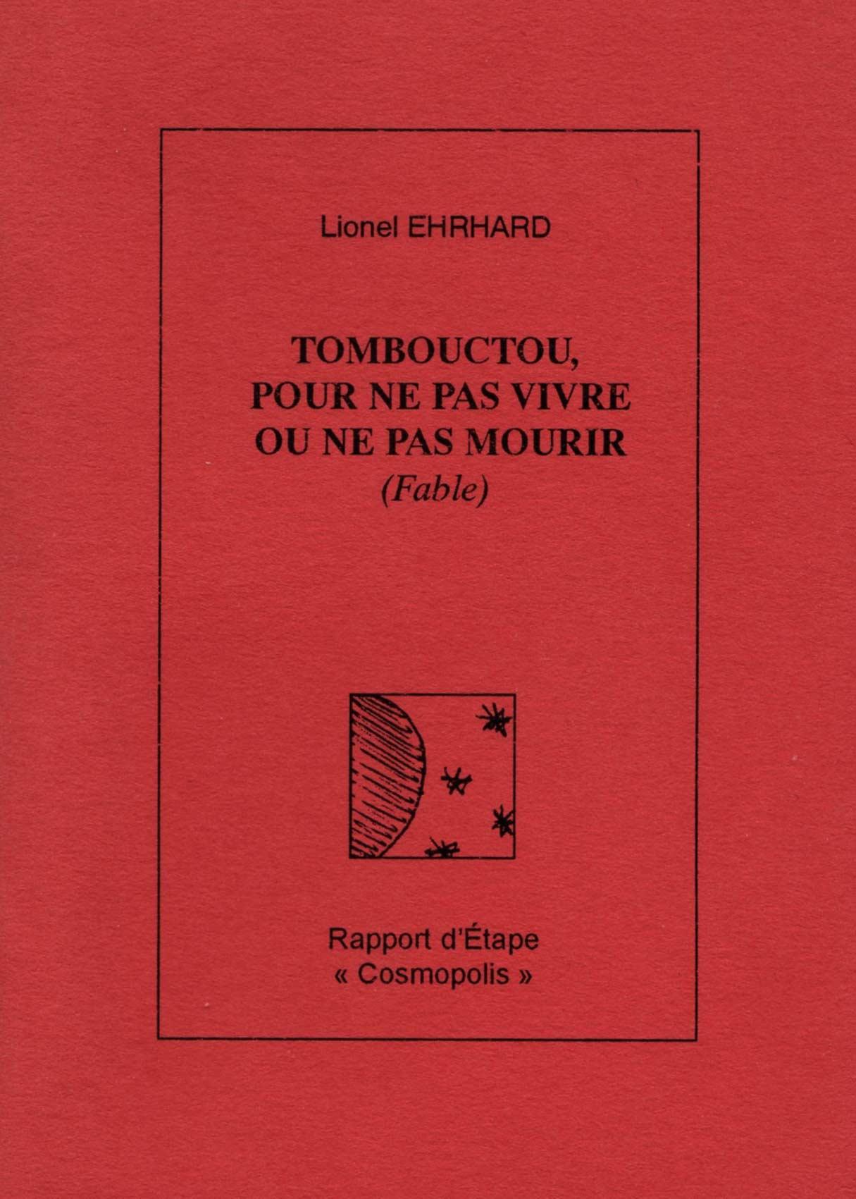 Lionel Ehrhard, Tombouctou, Rapport d'Étape, édition limitée à 100 exemplaires,  2004