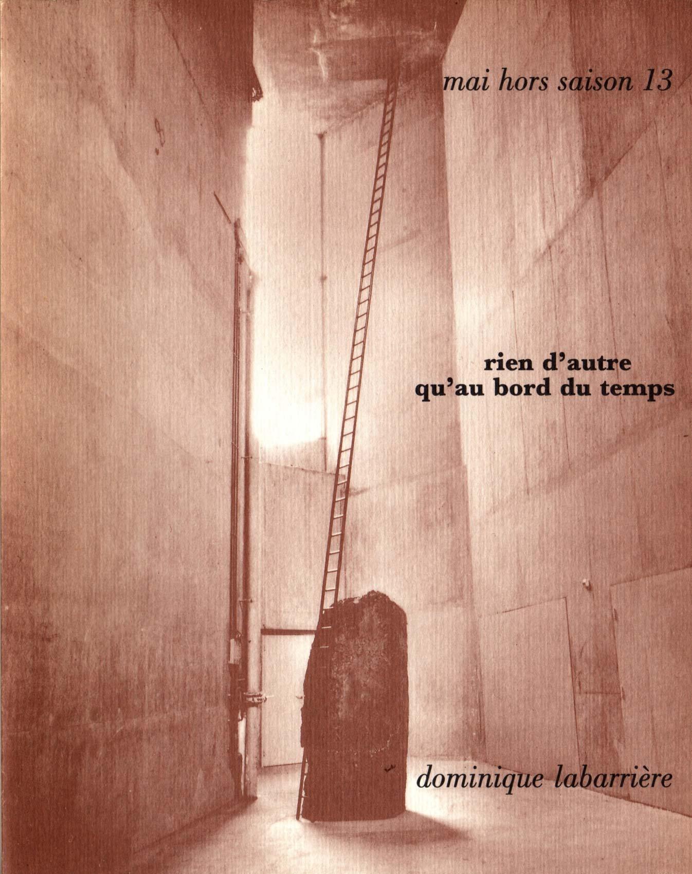 Numéro spécial en hommage à Dominique Labarrière orchestré par Guy Benoit, Mai hors saison,1994