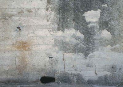 Mur ouest gris
