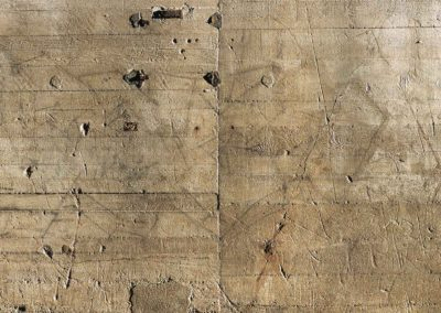 Mur ouest aux  Ephémérides