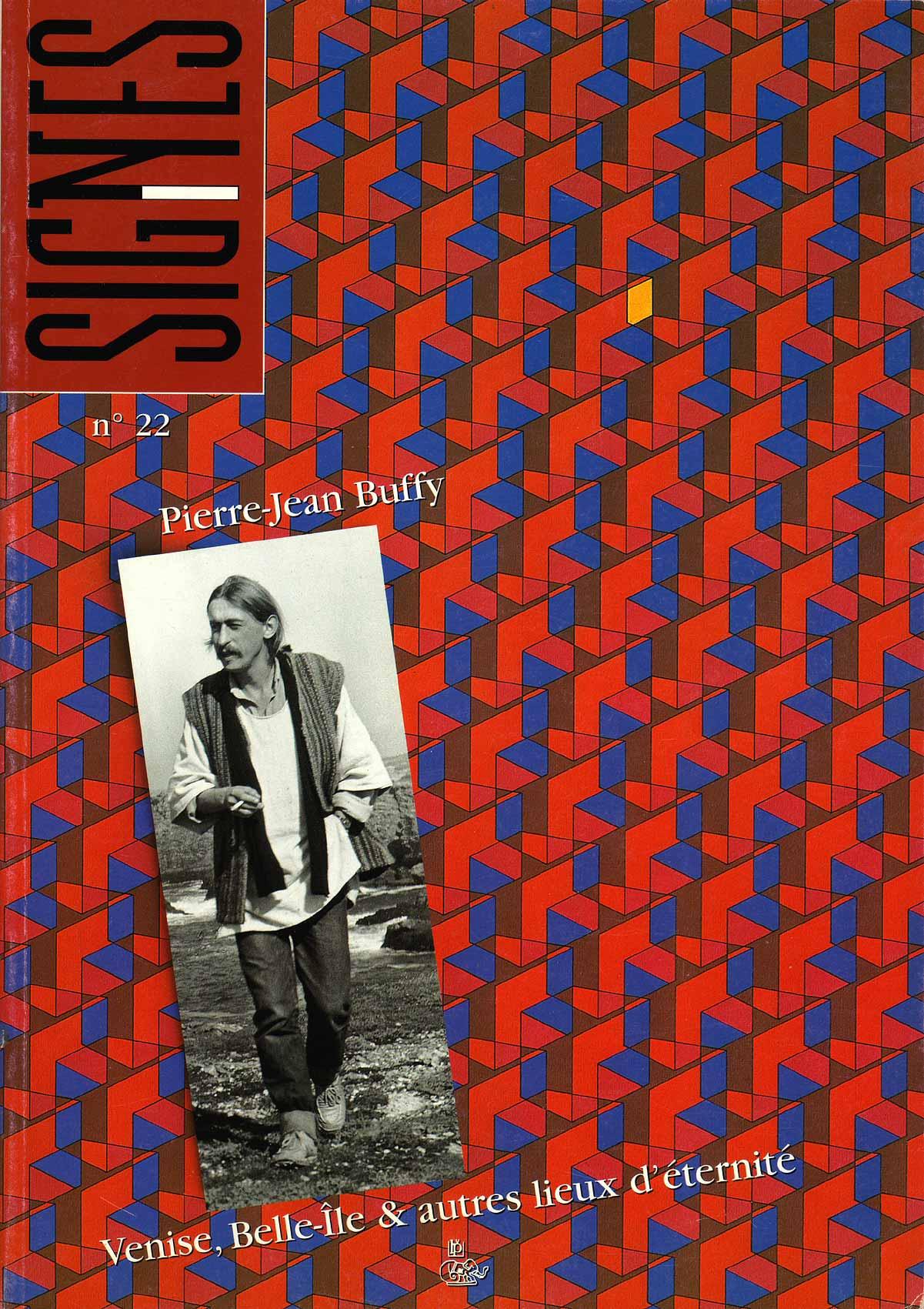 Revue Signes n°22, en hommage à Pierre-Jean Buffy, Le Petit Véhicule, 1998