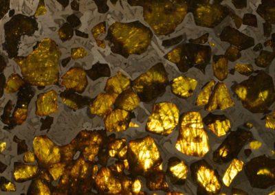 χάος , Khaos - Météorite pallasite, Fukang, Chine, Stony iron meteorite - Xavier Noël